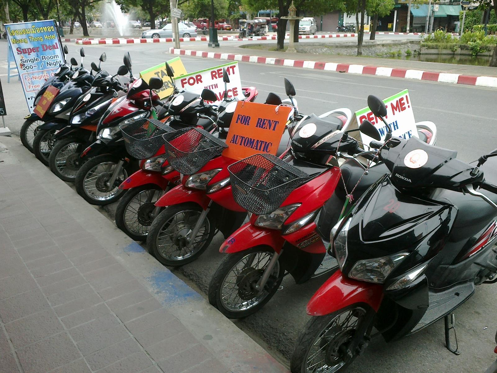 аренда мотобайков вьетнам